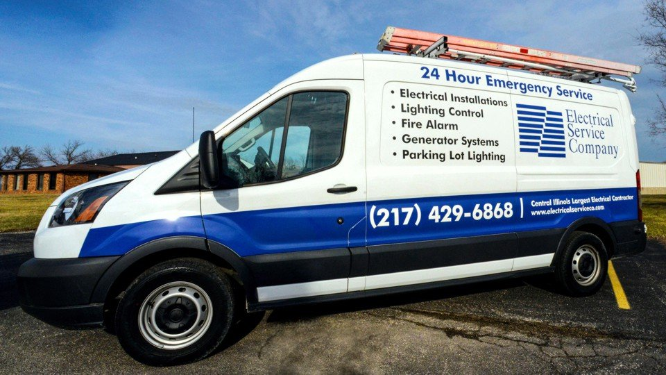 Electrical Service Company: 1845 N 22nd St, Decatur, IL