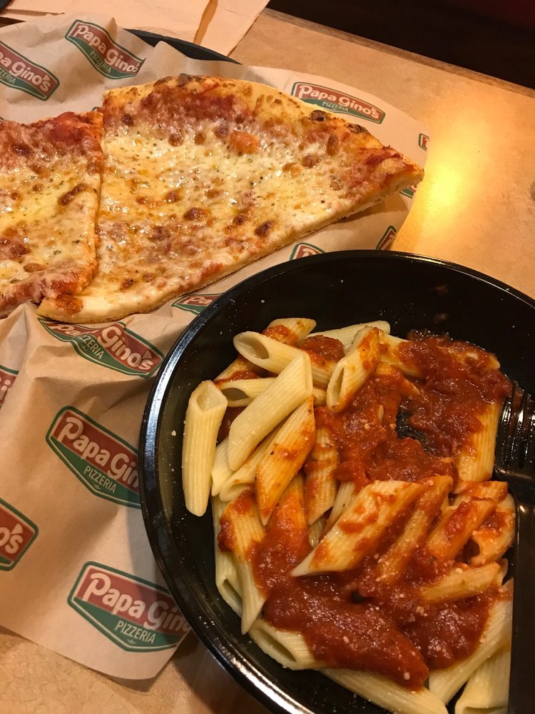Food from Papa Gino's Pizzeria