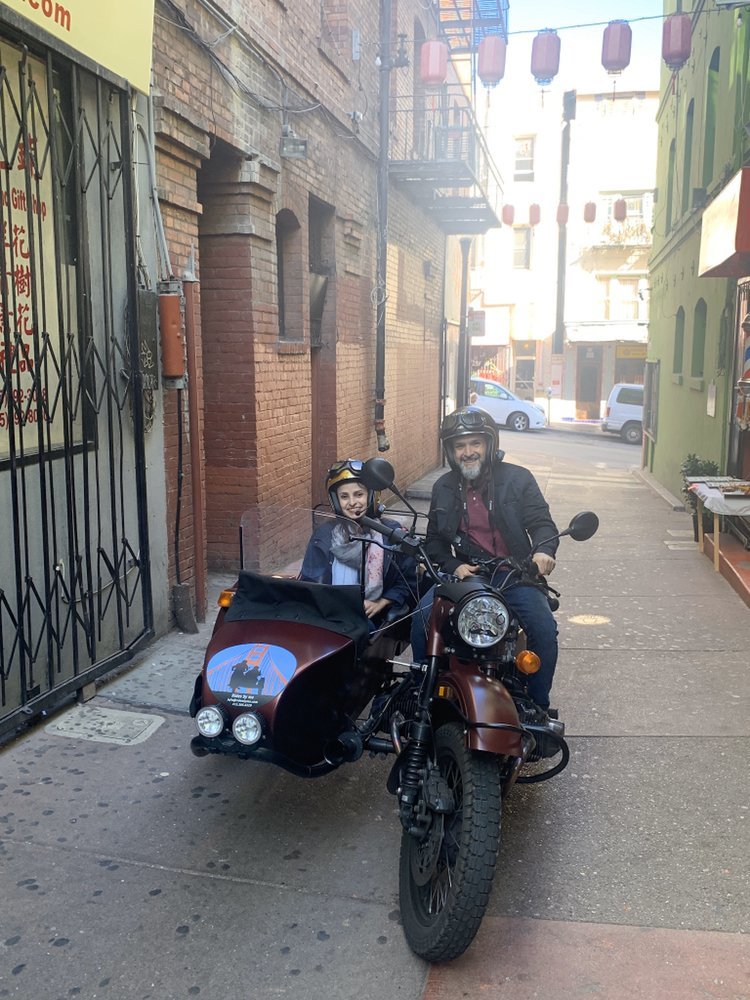 Classic Sidecar tours, Rides by me: San Francisco, CA