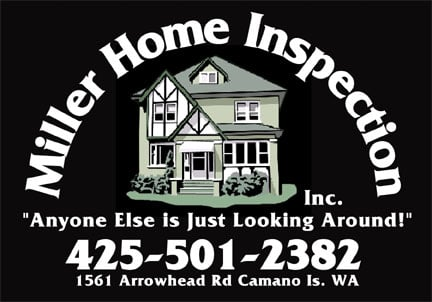 Miller Home Inspection: 8409 S Lake Ketchum Rd, Stanwood, WA