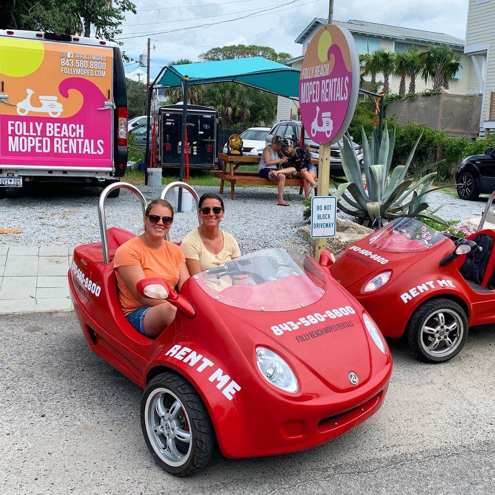 Folly Beach Moped Rentals