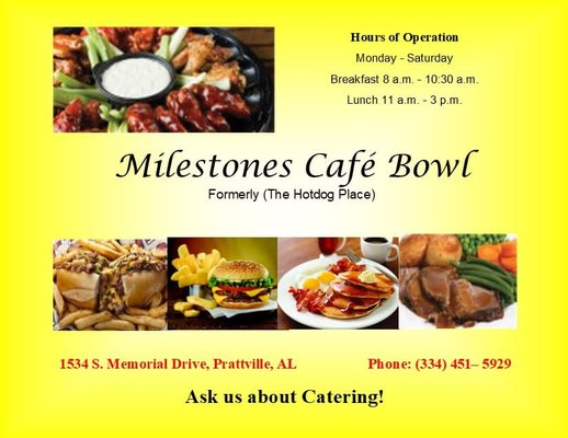Incredible Milestones Cafe Bowl 20 Photos American Traditional Download Free Architecture Designs Scobabritishbridgeorg