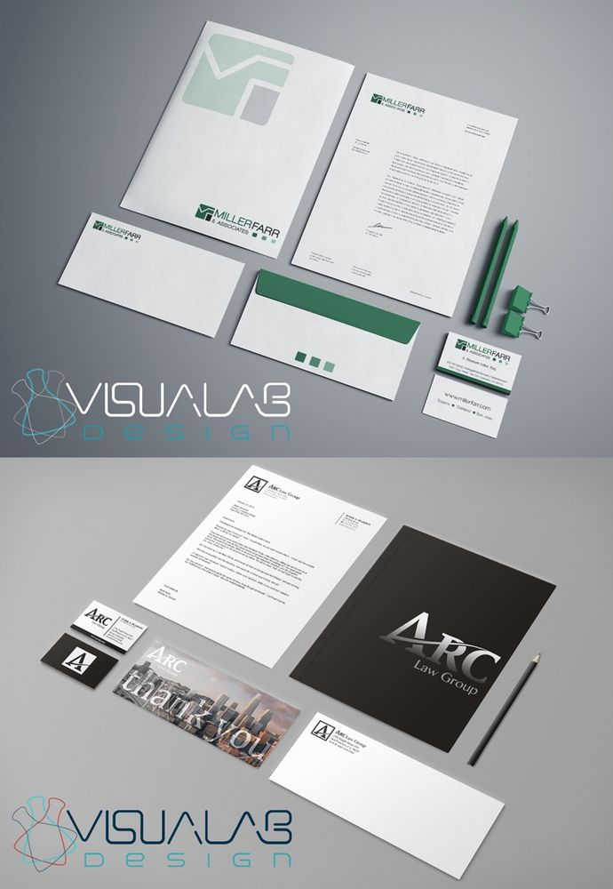 Visualab Design has designed websites, stationary, business cards ...