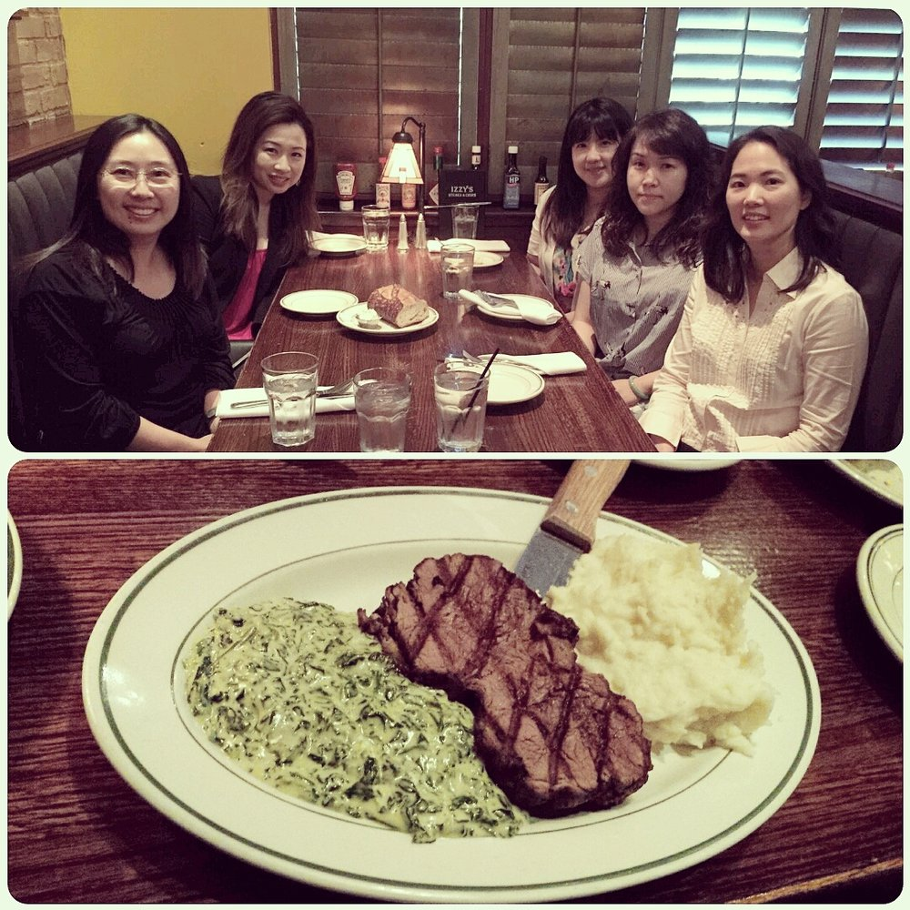 Birthday Dinner With My Girls. Great Food, Amazing Company