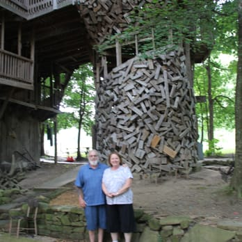 photo of ministers tree house crossville tn united states - Biggest Treehouse In The World 2017