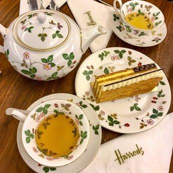 Photo of Harrodsu0027 Tea Room - London United Kingdom. Napolean dessert and delicious & Harrodsu0027 Tea Room - 166 Photos u0026 57 Reviews - Sandwiches - 87-135 ...