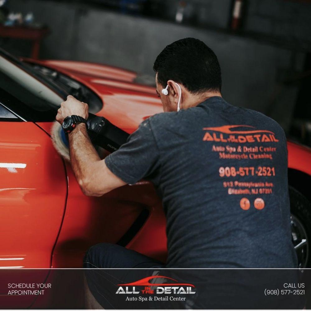 All in the Detail- Hand Car Wash & Detail Center: 512 Pennsylvania Ave, Elizabeth, NJ