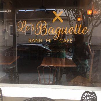 Le S Baguette Banh Mi Cafe New Orleans La