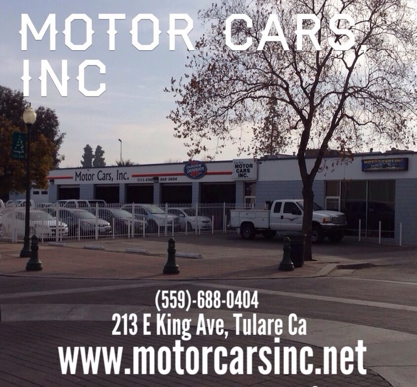 Motor cars inc 39 s beautifully maintained facilities in for Motor cars tulare ca