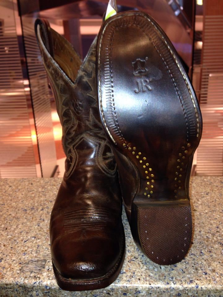s cowboy boots resoled with jr leather yelp