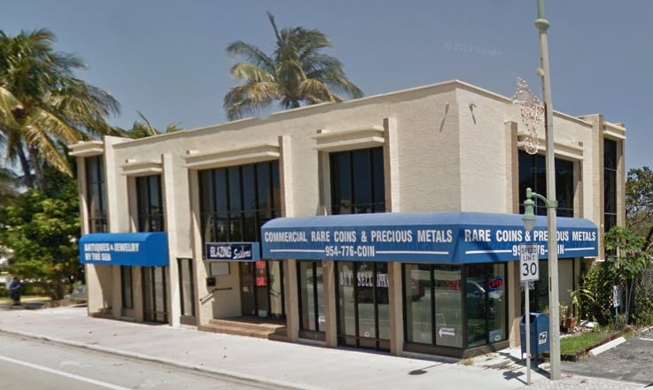 Commercial Rare Coins & Precious Metals: 219 Commercial Blvd, Lauderdale By The Sea, FL