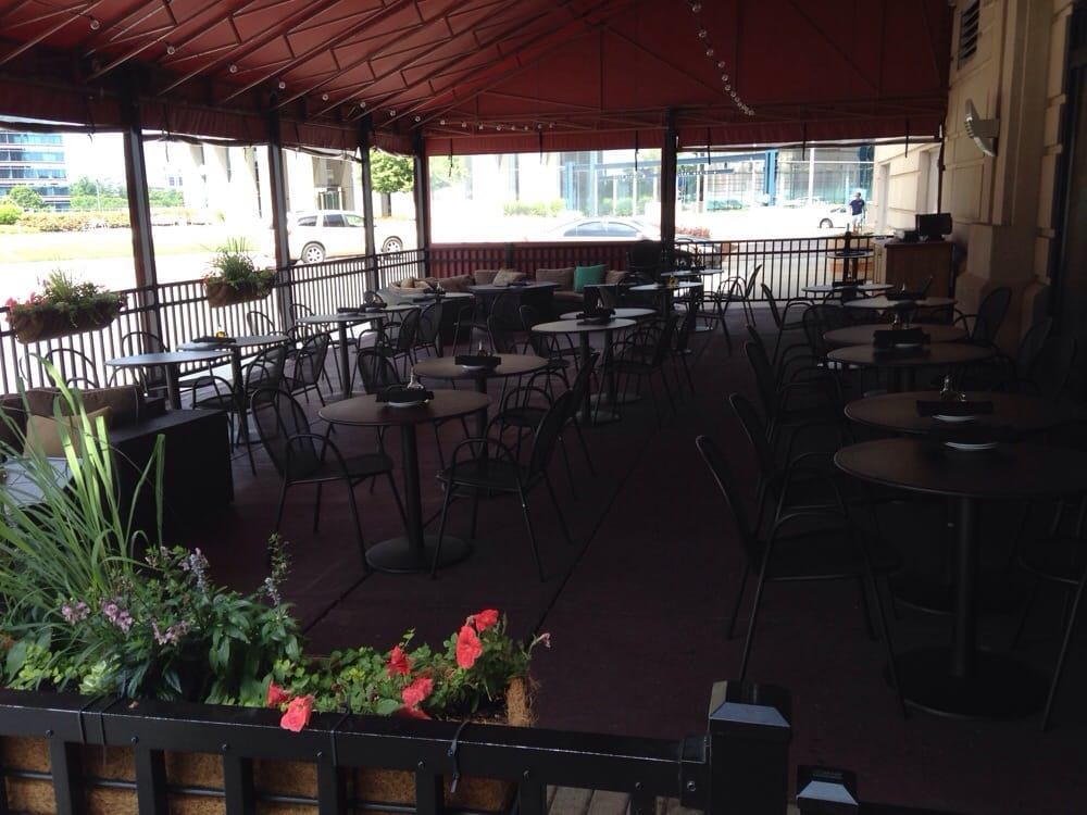 Italian Foods Near Me: Outdoor Dining Is Nice But Needs Fans.