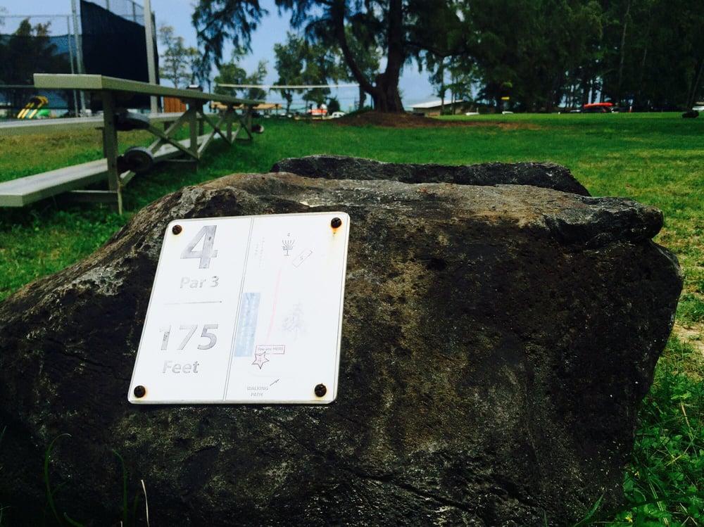Bellows Field Beach Disc Golf