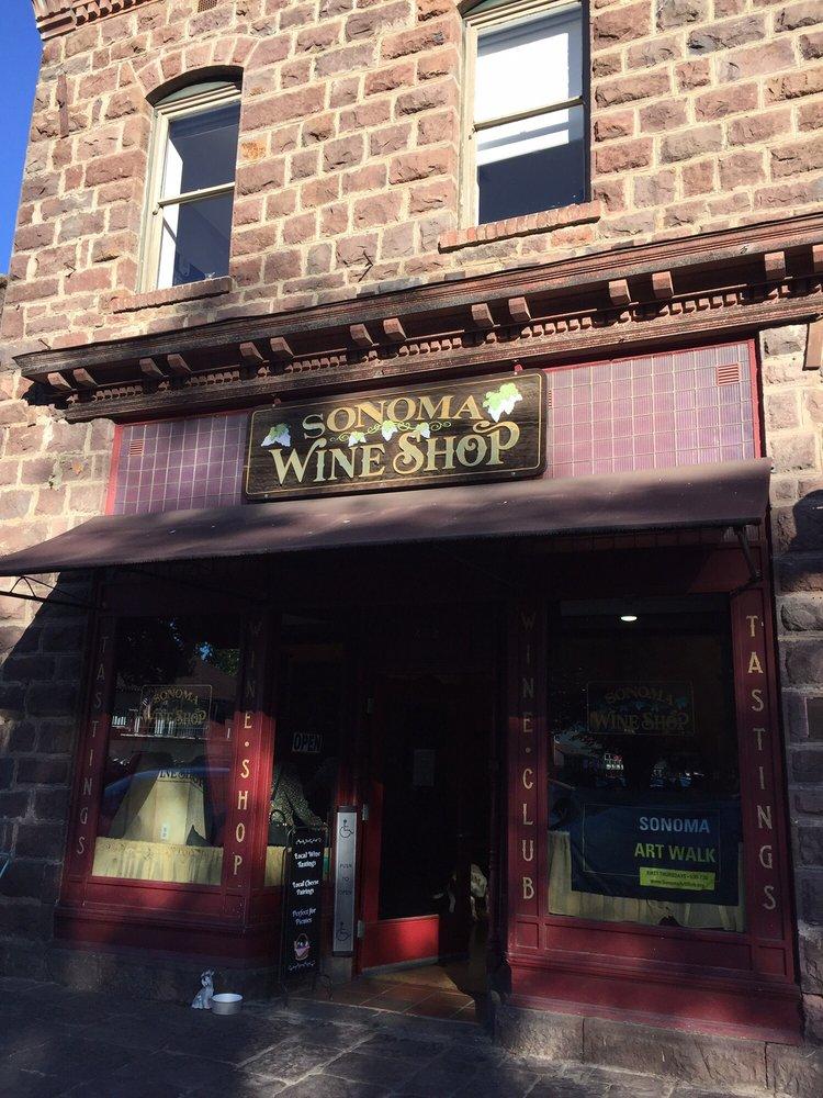 Sonoma Wine Shop: 412 1st St E, Sonoma, CA