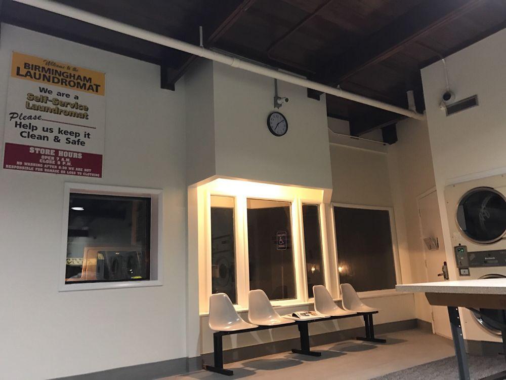Birmingham Laundromat: 1194 Grant St, Birmingham, MI