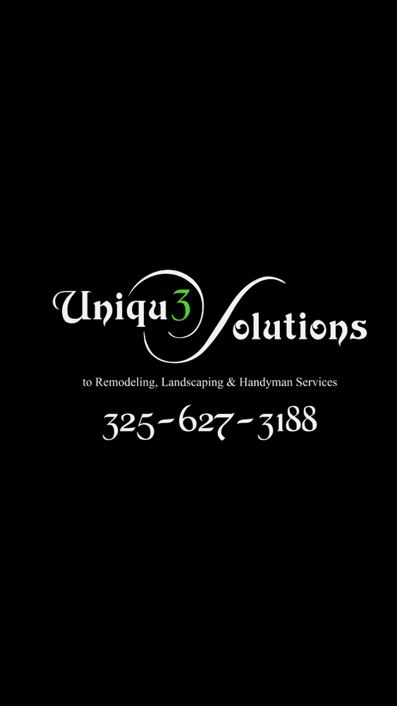 Uniqu3 Solutions: 1033 Walnut St, Abilene, TX