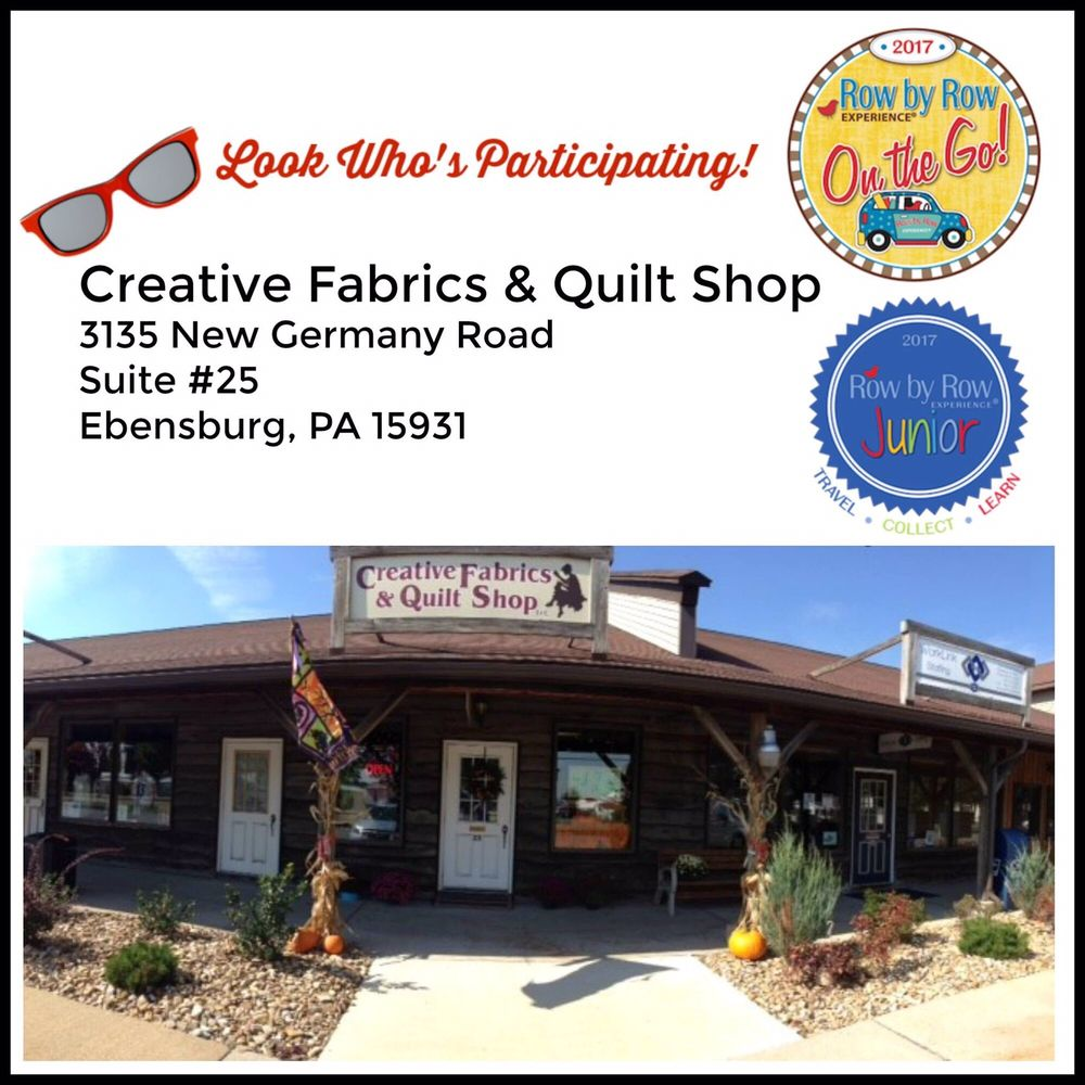 Creative Fabrics & Quilt Shop: 3135 New Germany Rd, Ebensburg, PA