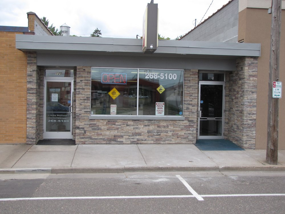 Pizza Man: 125 Birch St E, Amery, WI