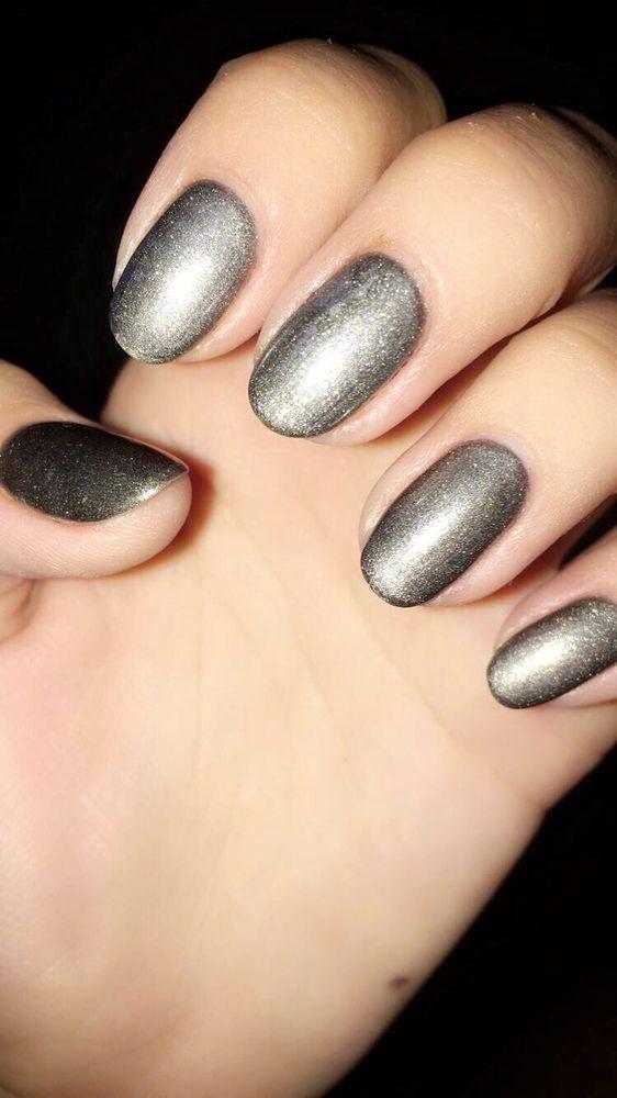 Space Grey gel polish! - Yelp