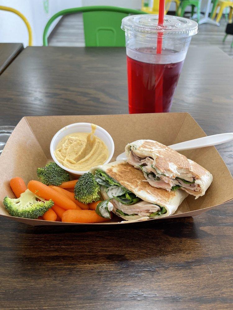Health Nut Cafe: 1501 N Santa Fe Ave, Edmond, OK