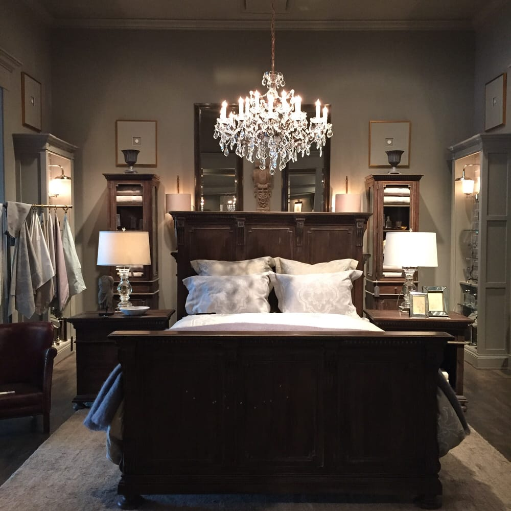 Cool bedroom set up yelp - Restoration hardware bedroom furniture ...