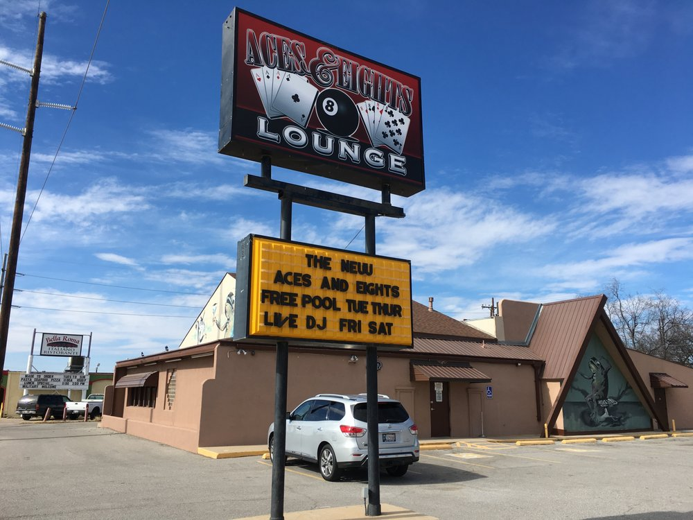 Aces & Eights: 1825 NW Cache Rd, Lawton, OK