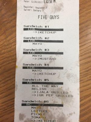 Five Guys 6095 Us Highway 98 Hattiesburg Ms Restaurants Mapquest