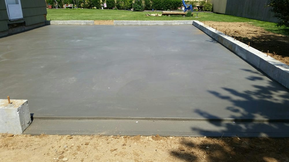 Concrete Slab For Ac : Concrete slab garage yelp