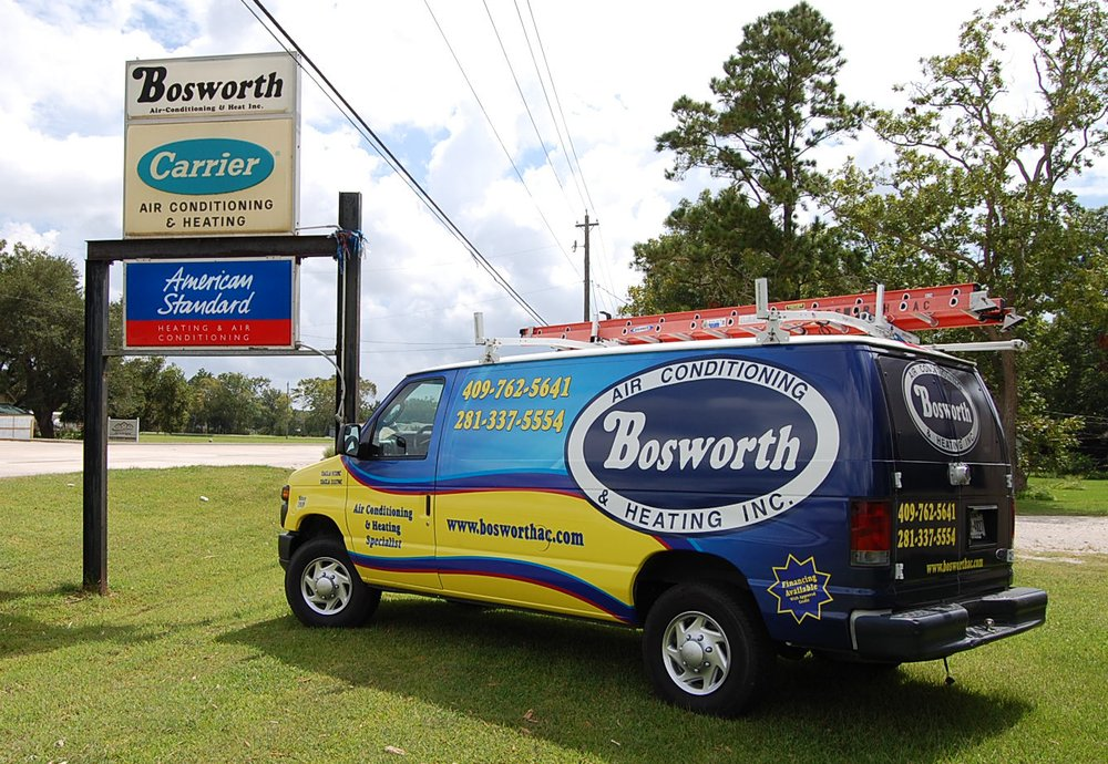Bosworth Air Conditioning & Heating: 1213 14th St, Galveston, TX