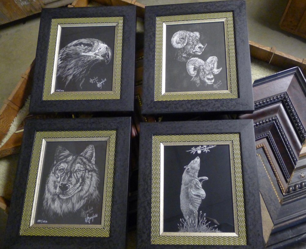 Billy Childress Picture Frames