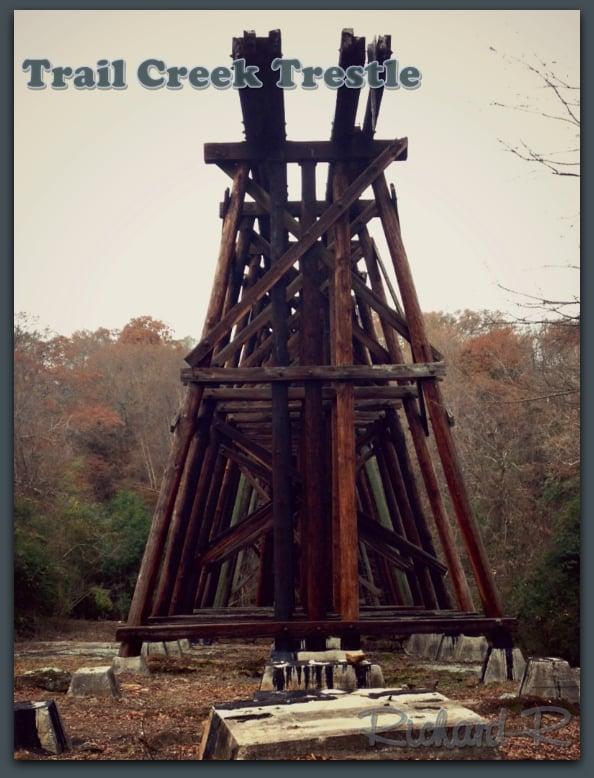 Trail Creek Trestle: S Poplar St, Athens, GA