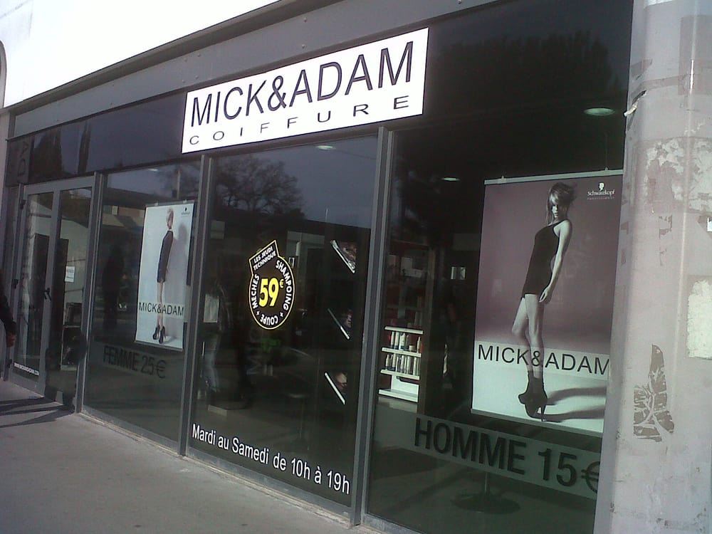 Mick adam hair salons 25 avenue roul talence gironde for Adam beauty salon