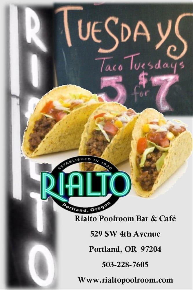 Rialto Poolroom Bar And Cafe