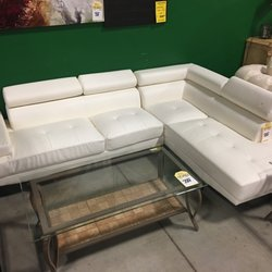Photo Of Furniture On Consignment   Wichita, KS, United States. White  Sectional *