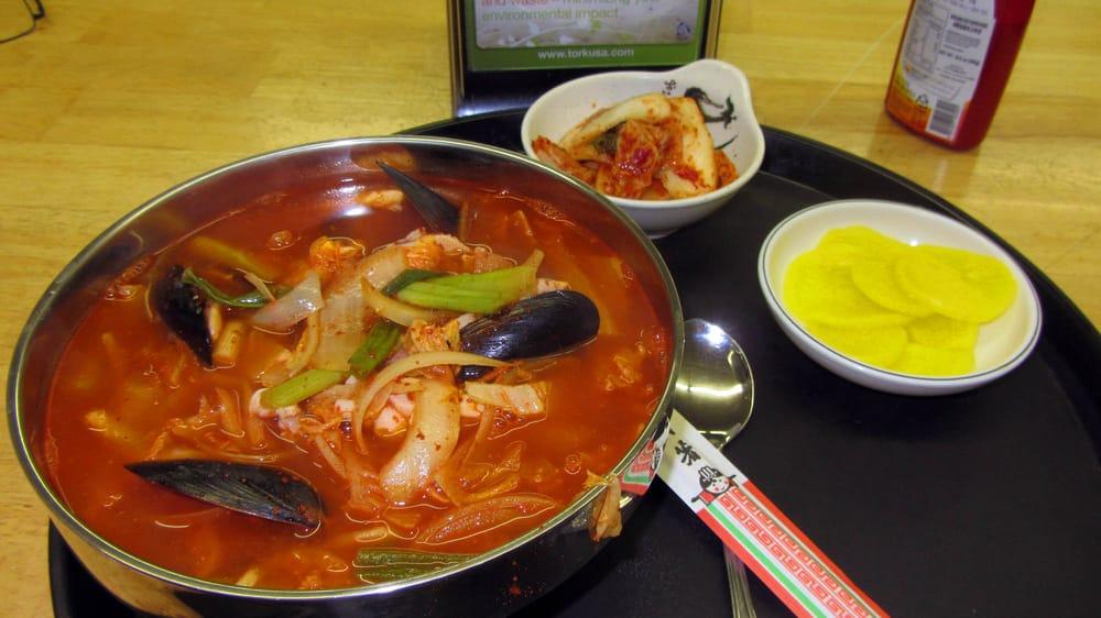 Seafood Jiam Bong With Kimchee And Radish Yelp