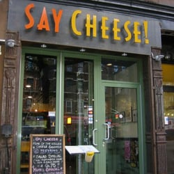 Say Cheese CLOSED 48 Reviews Fast Food 649 9th Ave Midtown West New