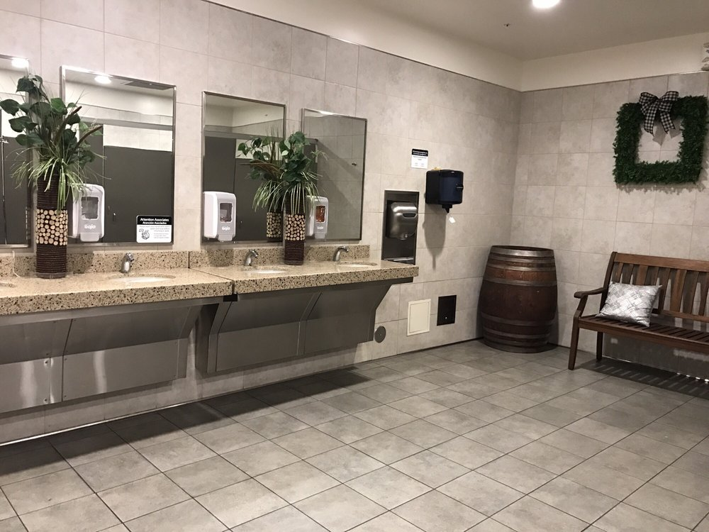 Cleanest walmart restroom ever yelp for Bathroom cleaning services near me