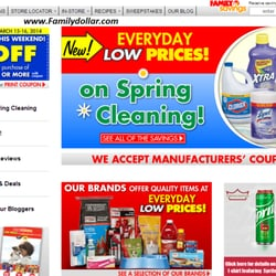 photo relating to Family Dollar Printable Coupons called Loved ones Greenback - (Refreshing) 12 Opinions - Division Outlets - 6150