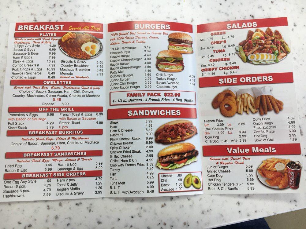 Tams Near Me >> Online Menu Of Tams Burgers Victorville Restaurant