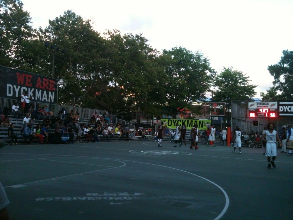 Dyckman Basketball: 228 Nagle Ave, New York, NY