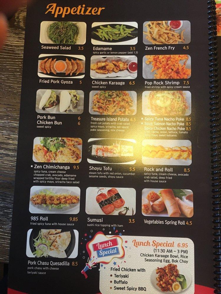 Zen Ramen and Sushi Burrito: 1939-B Woodruff Rd, Greenville, SC