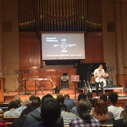 Photo of First Baptist Church - Portland, OR, United States. Sunday evening  service