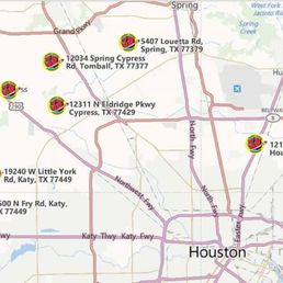 Johnny Bangs Fireworks - CLOSED - Fireworks - 12034 Spring ... on galena park map, sugar land map, webster map, tomball map, karen map, sydney map, humble map, elizabeth map, thomas map, the woodlands map, katy map, joshua map, missouri city map, jersey village map,