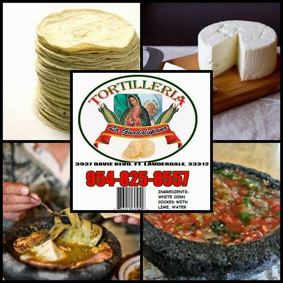 Tortillería La Guadalupana: 3937 Davie Blvd, Fort Lauderdale, FL