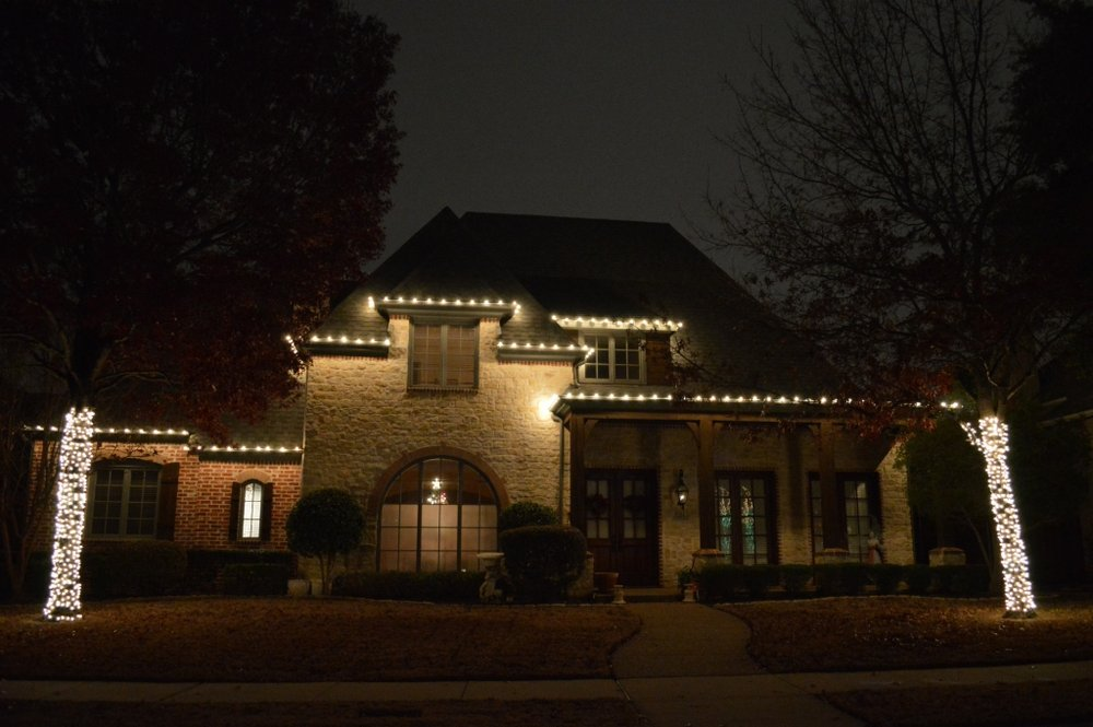 photo of jingle bell lighting dallas tx united states