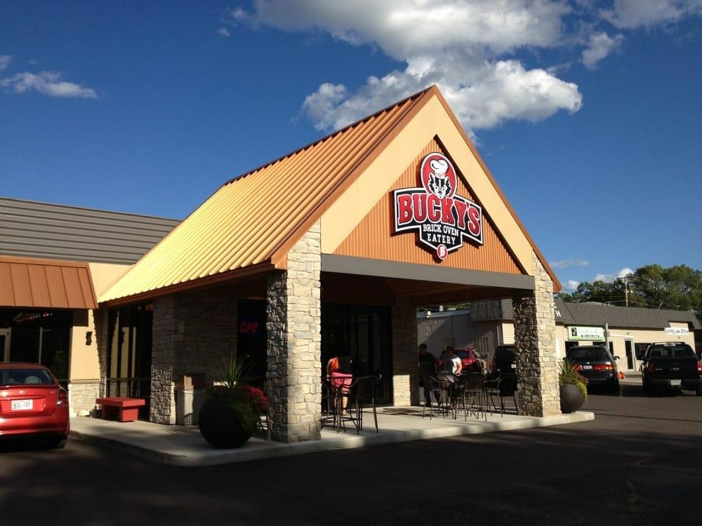 Bucky's Brick Oven Eatery: 166 S Main St, Adams, WI