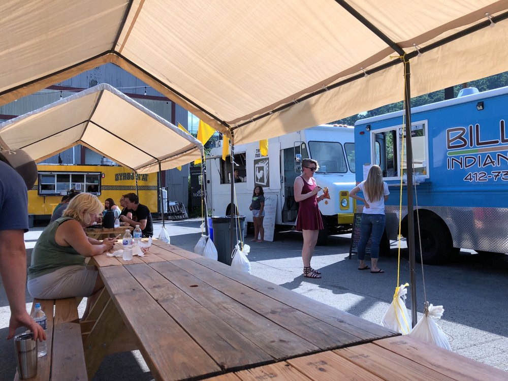 Pittsburgh Food Truck Park: 1923 River Front Dr, Millvale, PA