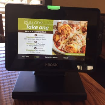 Photo Of Olive Garden Italian Restaurant   Kirkland, WA, United States.  Ziosk,