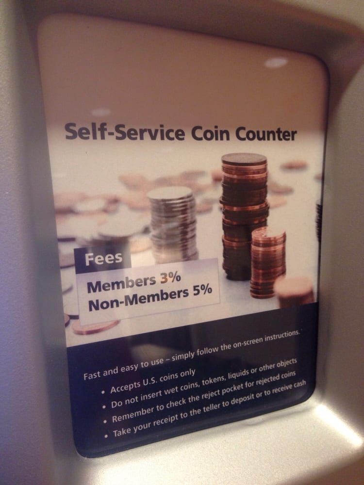 Self Service Coin Counter Yelp