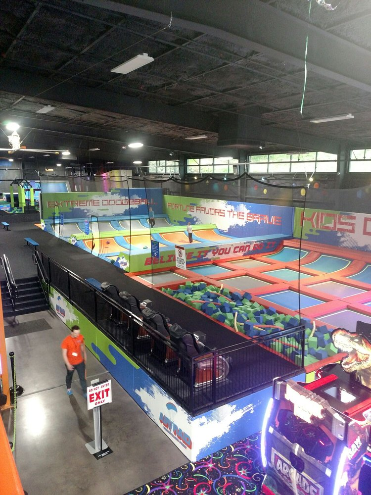 Air Raid Trampoline Park: 205 Shiloh Drive, London, KY